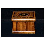 Italian Marquetry Sorrento Jewelry Box, c. 1920