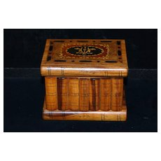 Italian Marquetry Sorrento Jewelry Box, c. 1920