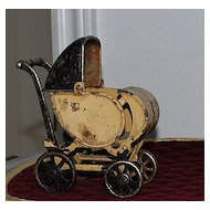 Cast Iron Doll Carriage