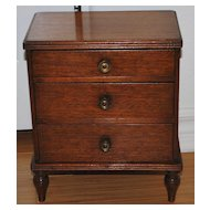 Victorian English Miniature Chest of Drawers, c. 1890