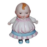 HappiFats Girl Character All Bisque Jointed Doll