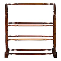 French Doll Towel Rack - circa 1900
