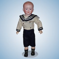 French   TETE BRU Character Boy  Doll