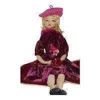 Etta Boudoir Doll w/ her Original Tag