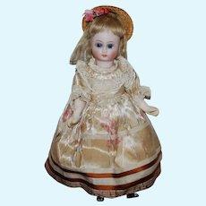 8 inch Bisque Head Belton Doll w/Wood Body