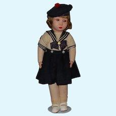 French Clelia Cloth Doll -  All Original