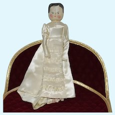 "12"" Peg Wooden Doll"