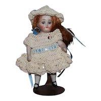 All Bisque German Doll w/ original label