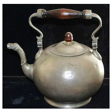 Dutch Pewter Teapot,c.1814
