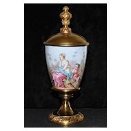 19th Century Enamel Covered Gild Chalice