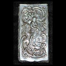 German 800 Silver Snuff Box,c. 1890