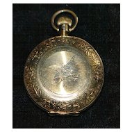 Victorian Lady's Hunting Case Pocket Watch,1887