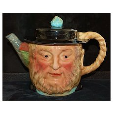 English  Pottery Character Teapot