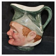"English  Lancaster ""PUCK"" Character Jug"