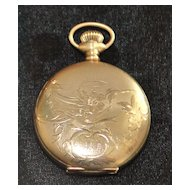 Regina Watch Co. Hunting Case Pocket Watch, c. 1905