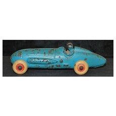 Cast Iron  Racing Car, 1930's