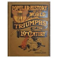 """Triumph of the Nineteenth Century"" - Book, 1900"