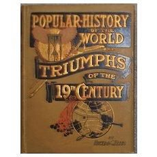 """Triumph of the Nineteenth Century"" - Book, 1900"