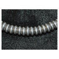 "Lagos ""Caviar"" Heavy Sterling Silver Necklace"