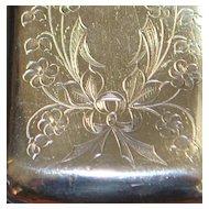 Russian Art Nouveau 84 Silver Box, c. 1890