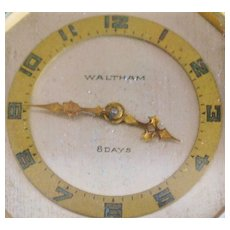 Waltham Bronze Car Clock - 1930