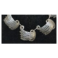 Mexican Sterling Silver Necklace - 1960's