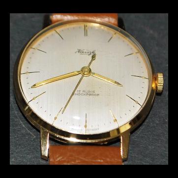 German Kienzle 17J  Wrist Watch - 1960's