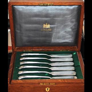 Mappin & Webb Princess Plate Boxed Set - 1887