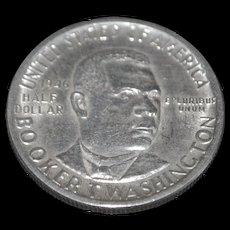 Booker T. Washington US Silver Half Dollar - 1946