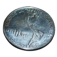Monroe Doctrine US Half Dollar Coin - 1923