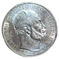 German Sieges Thaler Silver Coin -1871-A