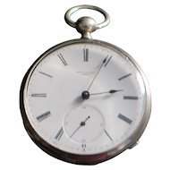 Swiss OF Silver KWKS Pocket Watch - 1880's