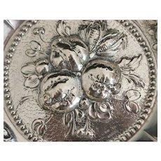 Fine German Repouse  800 Silver Bowl - 1920's