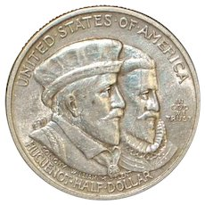 United States Half Dollar - Huguenot Walloon - 1924