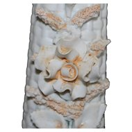 Pair of Porcelain Floral Vases - German