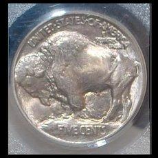 United States Buffalo Nickel, Type 1, 1913, - MS-65,  Slabbed