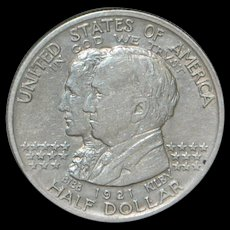 """United States Half Dollar """"Alabama"""" Silver Coin, 1921"""