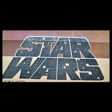 """Rare First Issue """"Star Wars"""" Poster - 1977"""
