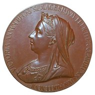 Royal Mint Queen Victoria Jubilee Bronze Medal, Original Box - 1897