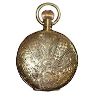 14K Gold Waltham Hunting Case Pocket Watch - 1908