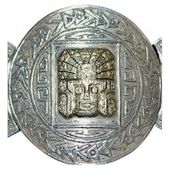 18K / Sterling Silver Large Peruvian Bracelet - Gavidia