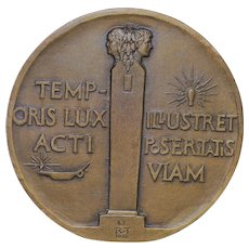 University of Pennsylvania Bicentennial Bronze Medal - 1940
