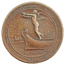 Panama Pacific International Expo Medal - 1915