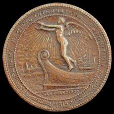Panama Pacific International Expo Medal - 1915