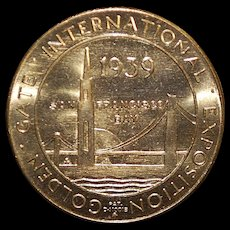 Golden Gate International Exposition Medal - 1939