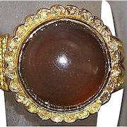 18K Chrysoberyl and Diamond Ring - 1910