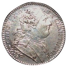 French Revolution Silver Coin - 1785