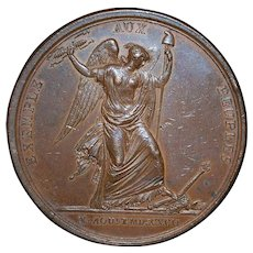French Revolution Bronze Medal - 1792