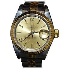 18K Stainless Steel Lady's Rolex Wrist Watch