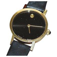 """14K Gold Movado """"Zenith"""" Wrist Watch"""